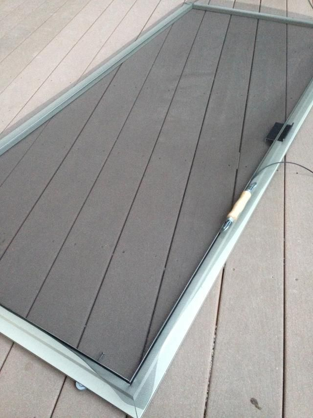How To Re Screen A Window Or Sliding Glass Door Screen Recipe