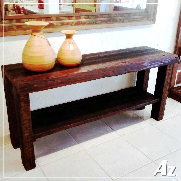 Fotos Do Artesanato Alagoano ~ Aparador em madeira de demoliç u00e3o Modelo exclusivo fabricado artesanalmente pela Az Móveis