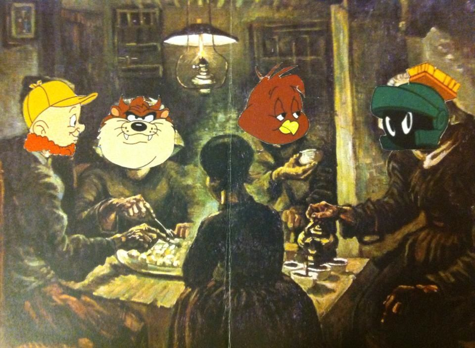 My first thoughts – The potato Eaters | Van gogh