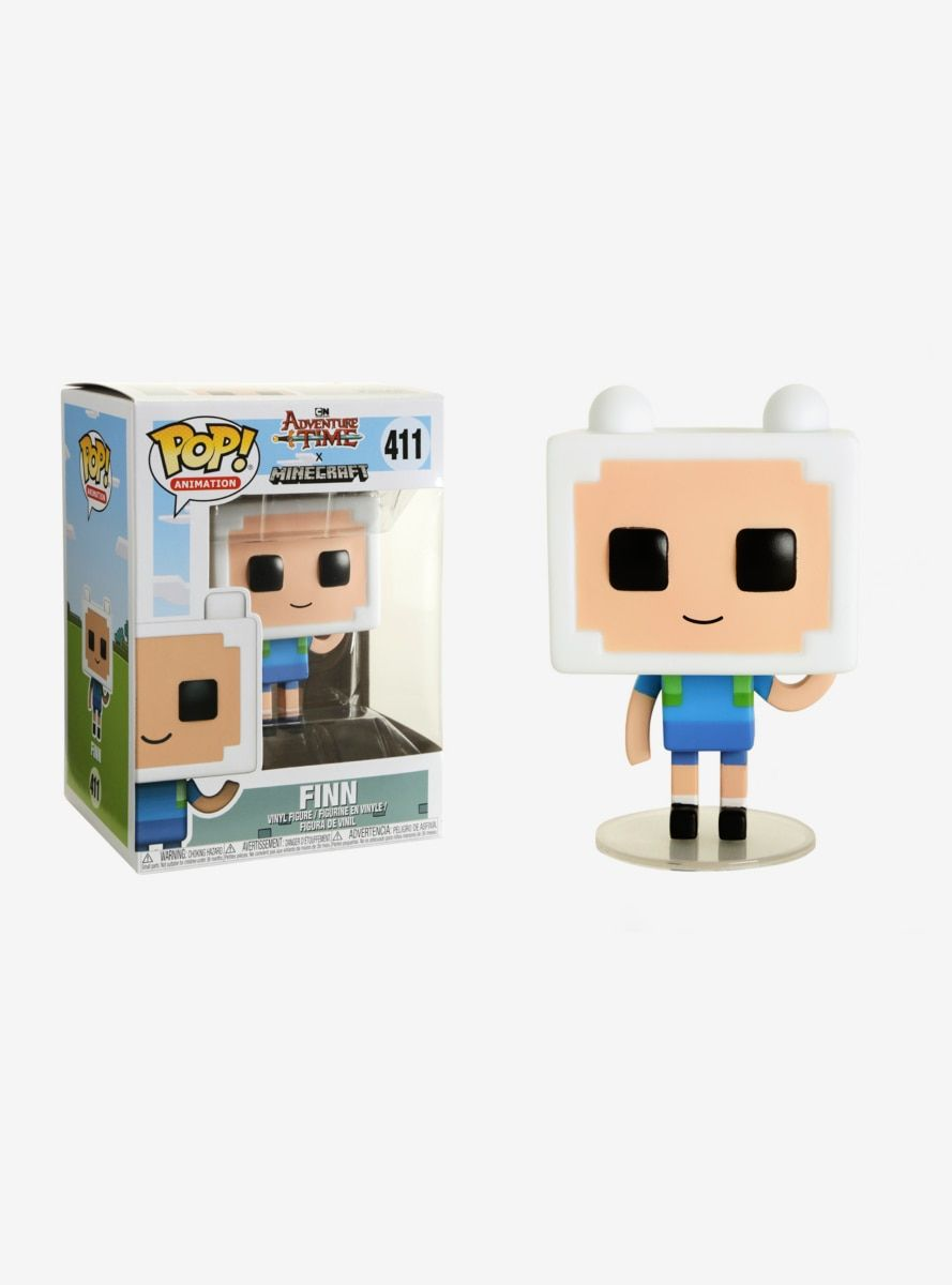 Jake Brand New In Box Funko POP TV Adventure Time//Minecraft S1
