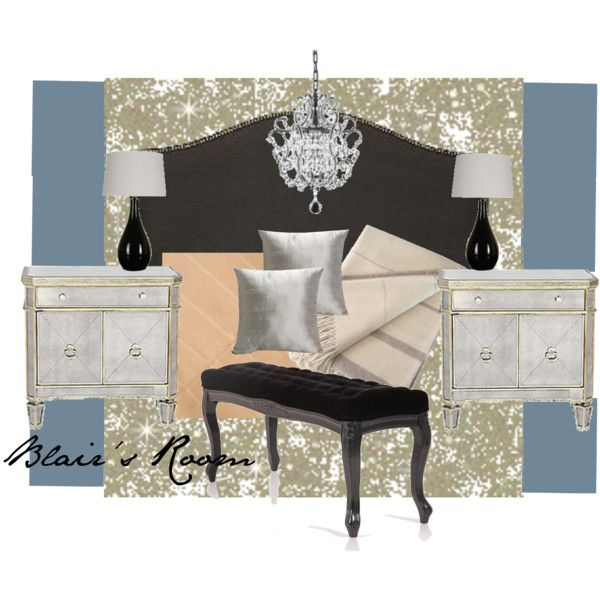 blair waldorfs bedroom by attentiontodetail on polyvore - Blair Waldorf Wohnheim Zimmer