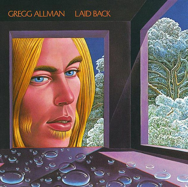 Gregg Allman Laid Back Album Art Album Cover Art Midnight Rider