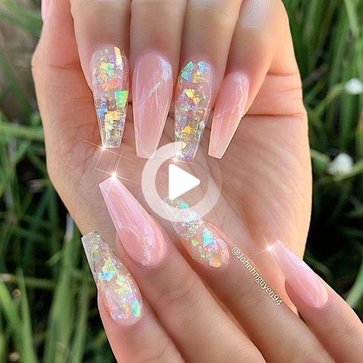 #pretty acrylic nails coffin summer False nails have been in existence since the... - #pretty