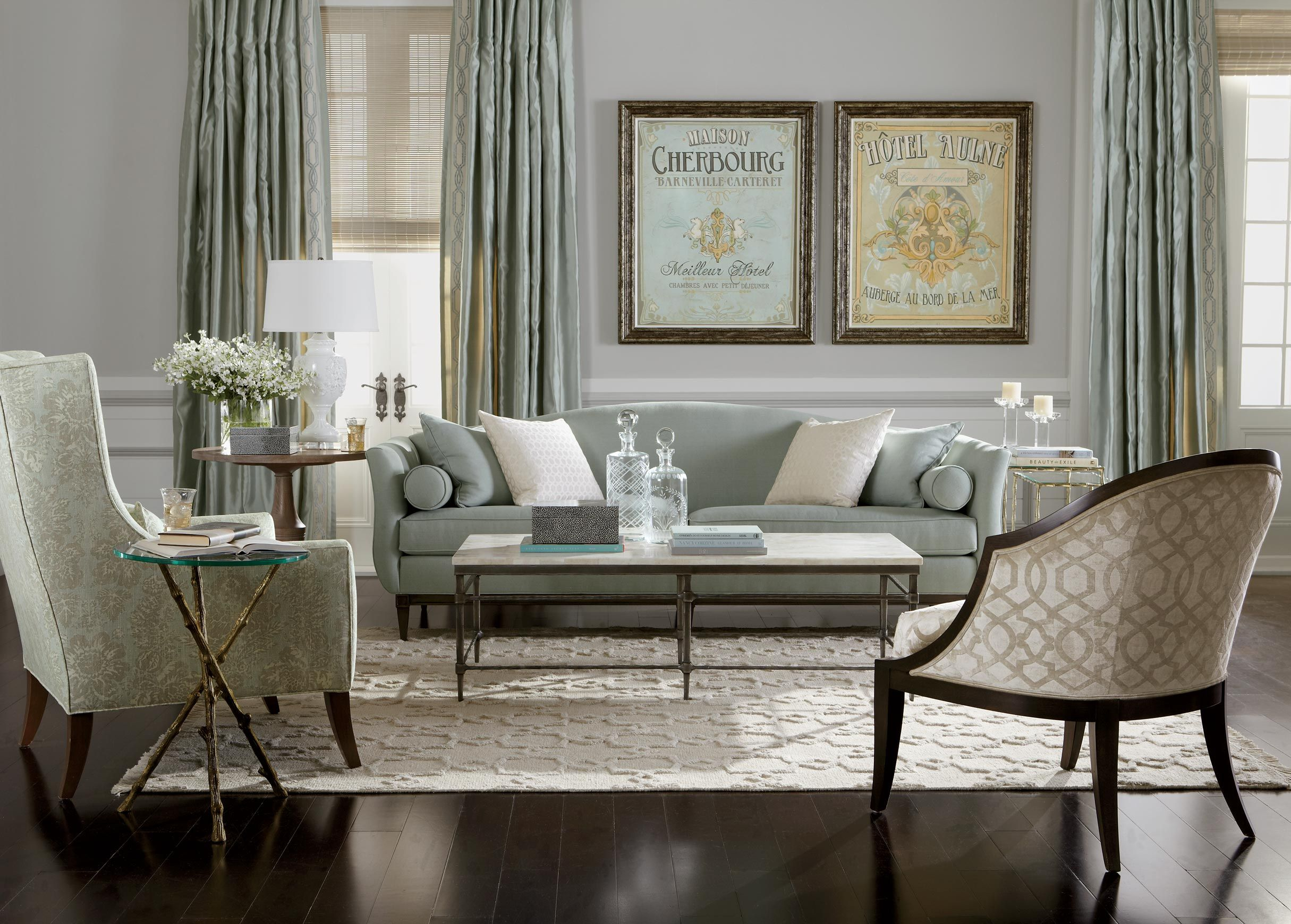 True romance living room ethan allen simply neutral for Ethan allen living room designs