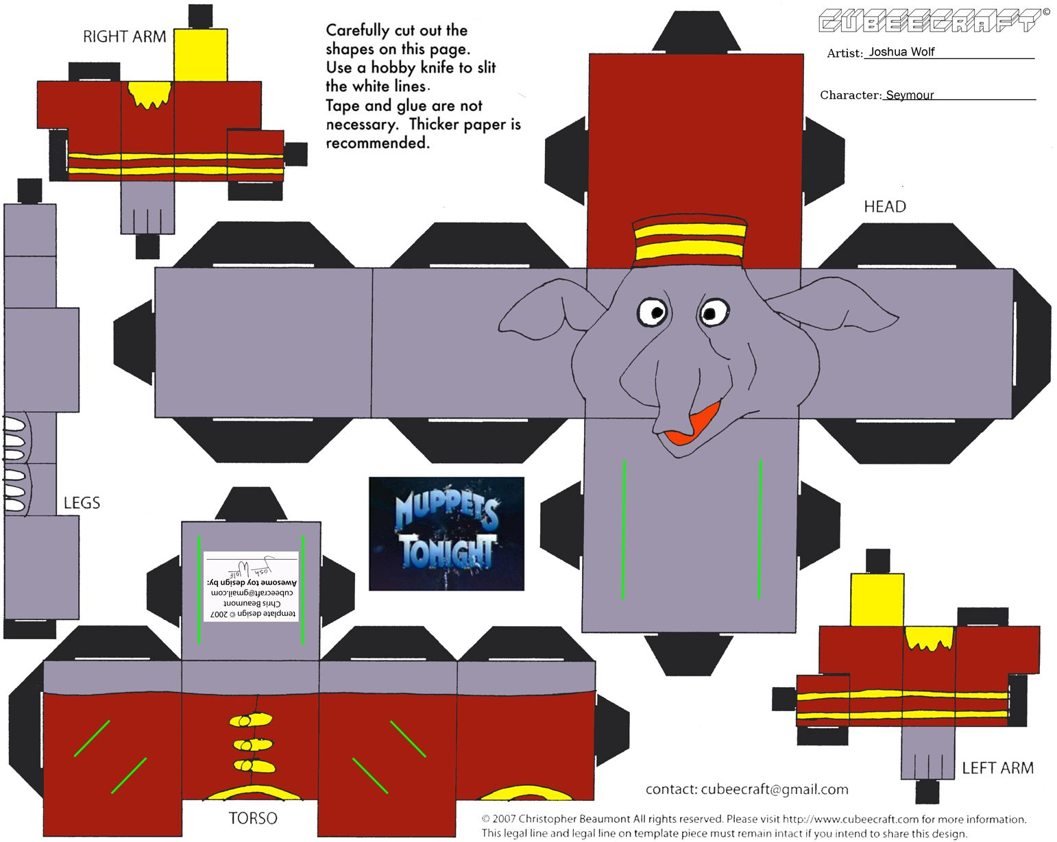 elephant crafts Google Search Paper animals, Elephant