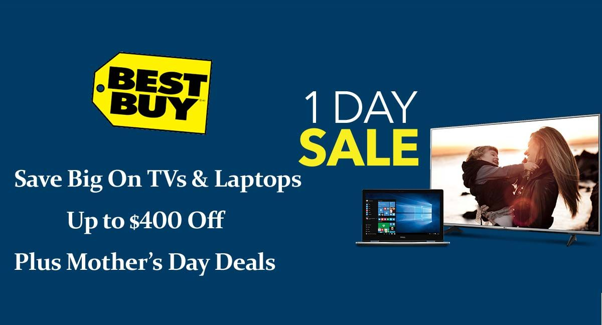 Save Big On Tvs Laptops Up To 400 Off Mother S Day Deals At Bestbuy Laptops Tvs Lcd Screen Electroni Cool Things To Buy Best Buy Coupons Promo Codes