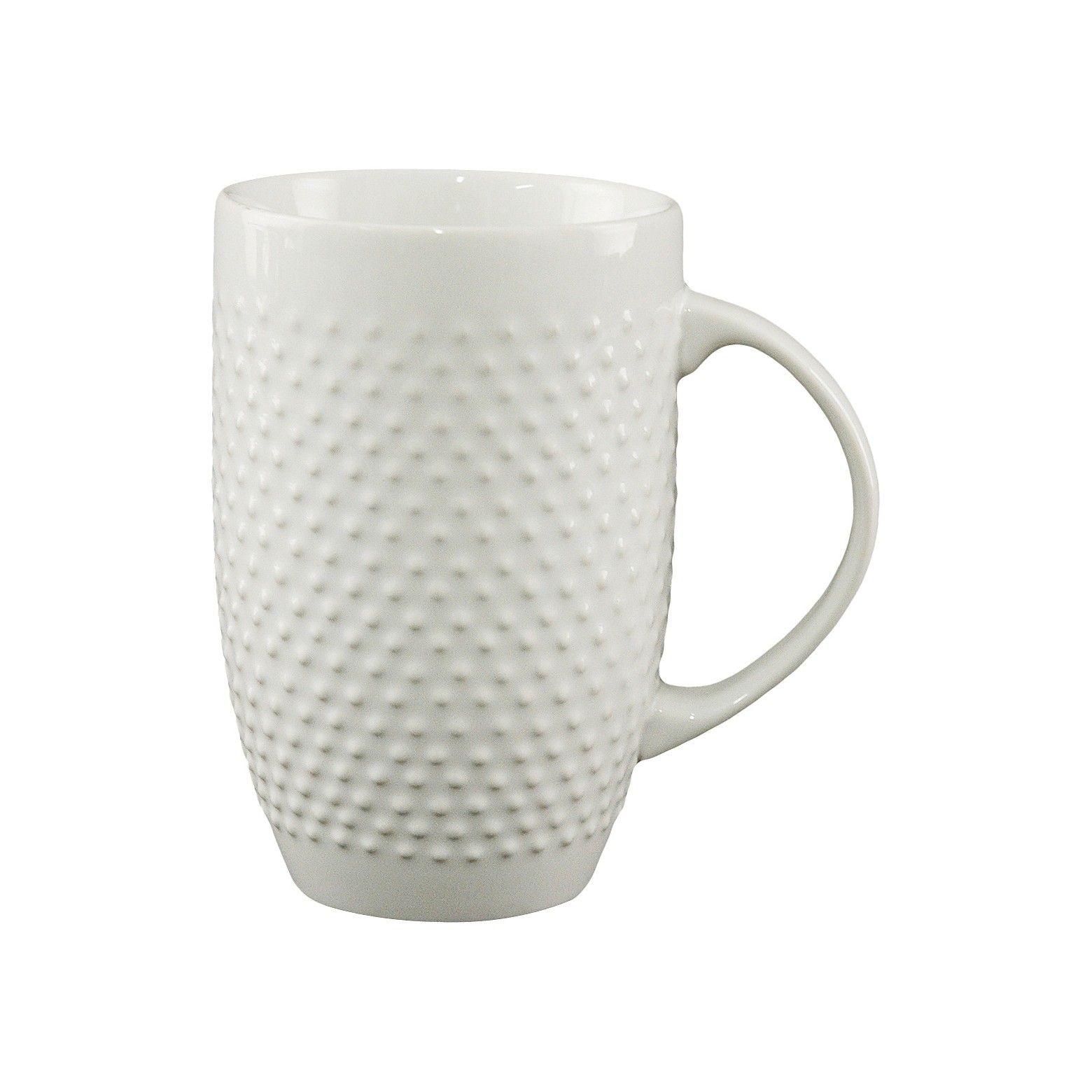 All Over Beaded Mug 20oz White Threshold™ White