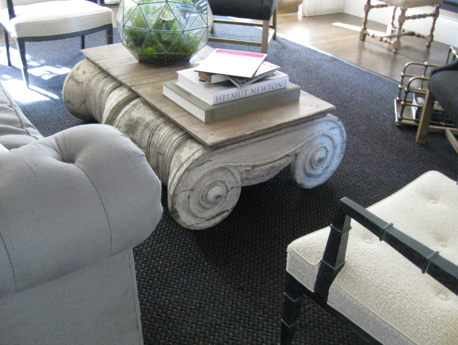 I Like The Coffee Table Simplified Bee Elle Decor Showhouse San Francisco Living Room Design By Gary Spain