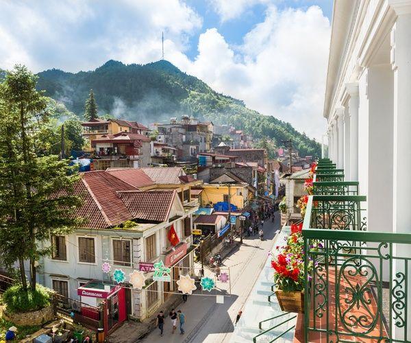 Khách Sạn U Sa Pa được Xây Dựng Trên Khu đất Vàng Số 8 Phố Cầu Mây Một Trong Những đường Cổ Của Thị Trấn