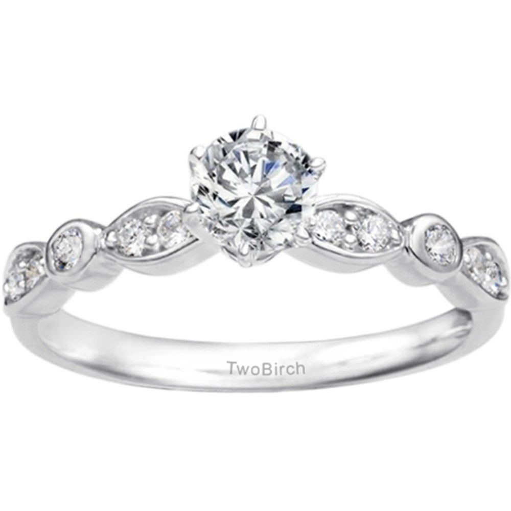 Promise Ring Meaning In Yellow Plated Silver With Cubic
