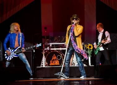 """Def Leppard """"opens for itself"""" providing interesting musical contrast."""