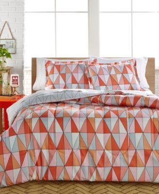 Rikka 3-Piece Reversible Full/Queen Comforter Set - Bed in a Bag - Bed & Bath - Macy's