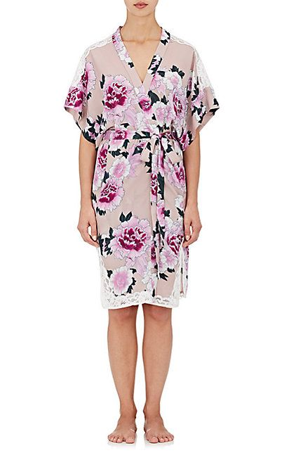5908e30d3c2 We Adore  The Crêpe De Chine Kimono Robe from Fleur du Mal at Barneys New