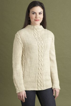 13b85f1a212d Free Knitting Pattern 90194AD Madison Pullover   Lion Brand Yarn Company