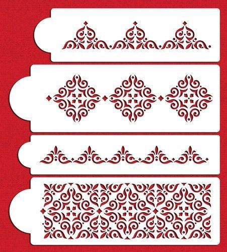 Mexican Tile Stencil Set by Designer Stencils C540 | eBay