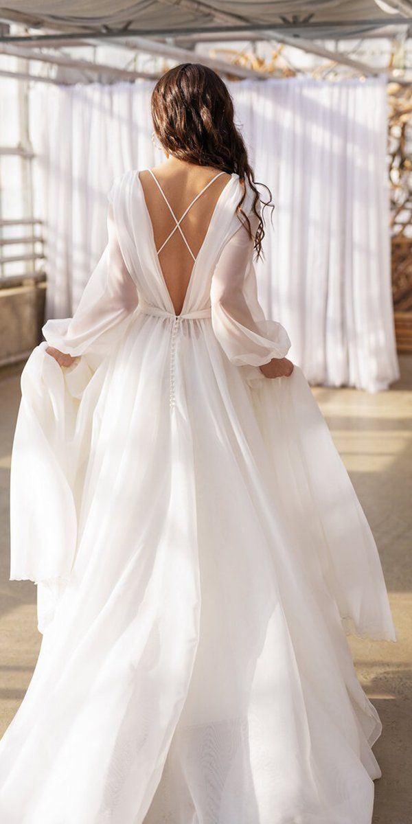 36 Chic Long Sleeve Wedding Dresses | Wedding Forward