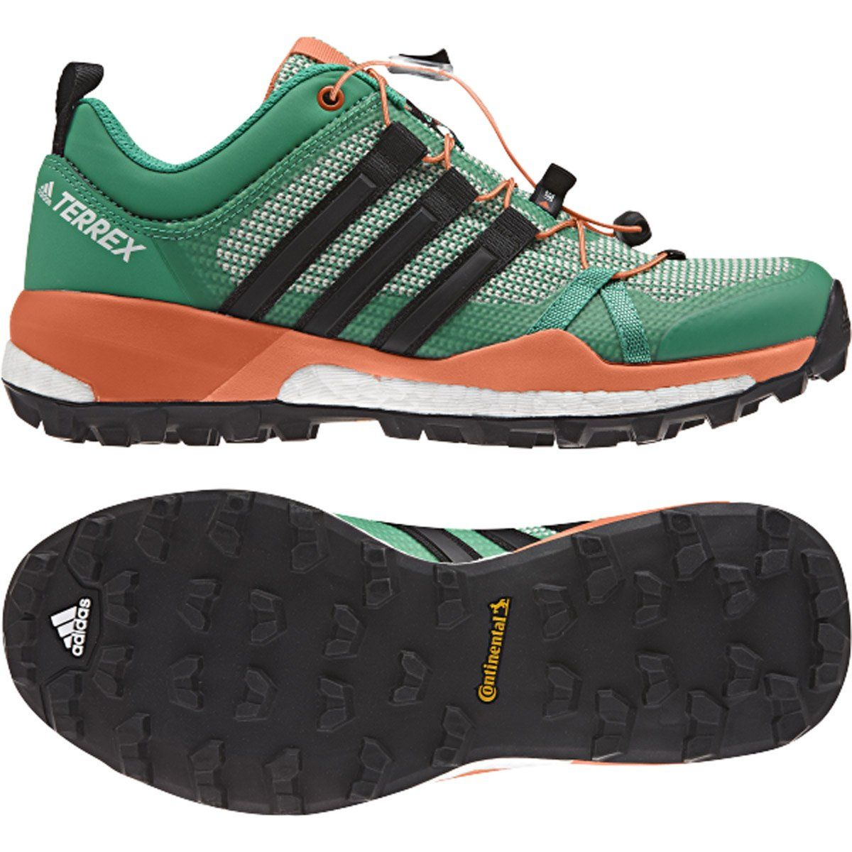 7f89e4f7c93c adidas Outdoor Womens Terrex Skychaser Core Green Black Easy Orange 7 B US  -- Click on the image for additional details.(It is Amazon affiliate link)    ...