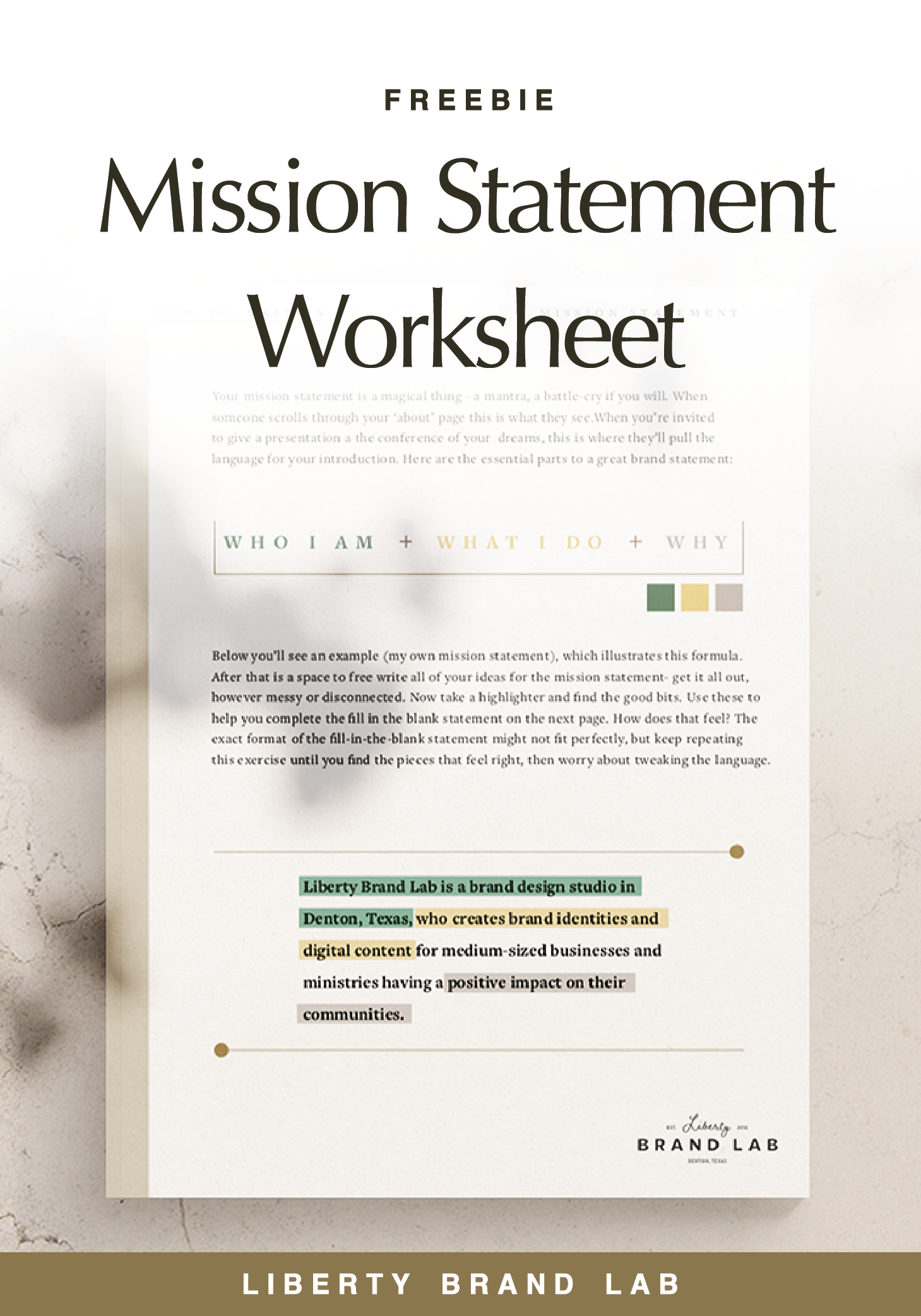 In 5 Minutes Learn How To Write A Mission Statement That