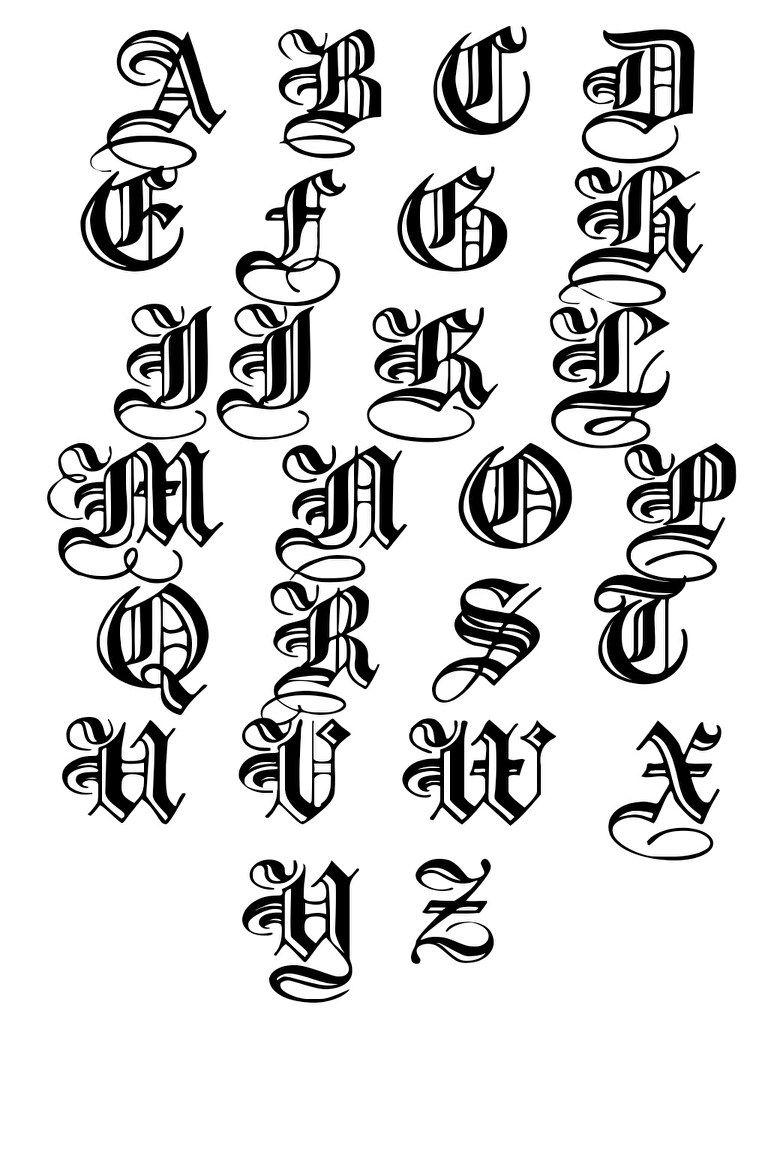 letters Hand lettering alphabet, Lettering alphabet
