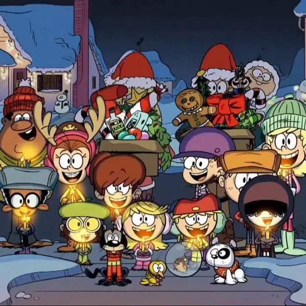 Ready Set Leap And Get Ready For Next Friday S 11 Louds A Leapin Christmas Special Have The Loud House Fanart Loud House Characters Christmas Cartoons
