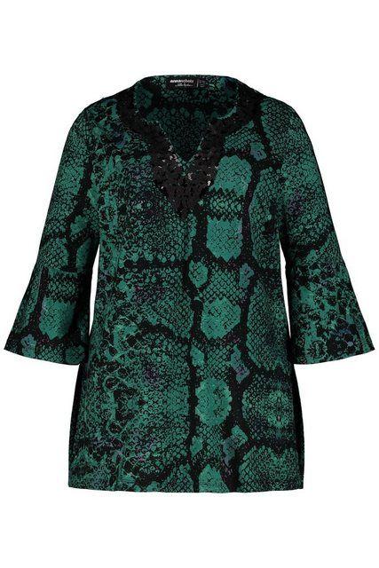 Klassische Bluse bis 64, Kaftan-Bluse mit Pailletten, Tunika mit Druck, Volants, Exklusive Designer- #tunicdesigns