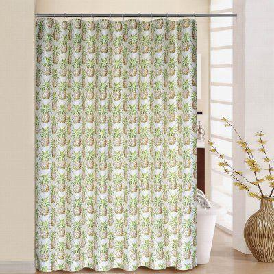 Waverly Pineapple Grove Shower Curtain With Rings Bathroom Remodel Cost Large Bathroom Remodel Simple Bathroom Remodel