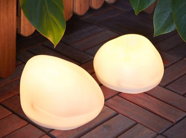 Galet Lumineux Pour La Terrasse Ikea   Idées pour la maison ...