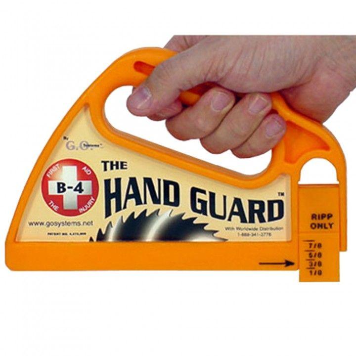 The Hand Guard Push Block Adjustable Replaceable Heel