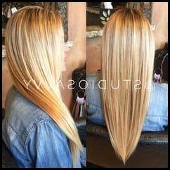 V Schnitt Für Lange Haare Für Haare Lange Schnitt Hair