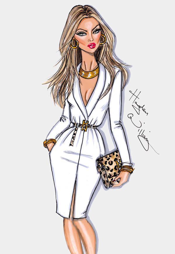12 Stunning Fashion Sketches by Hayden Williams - Tuts+ ...