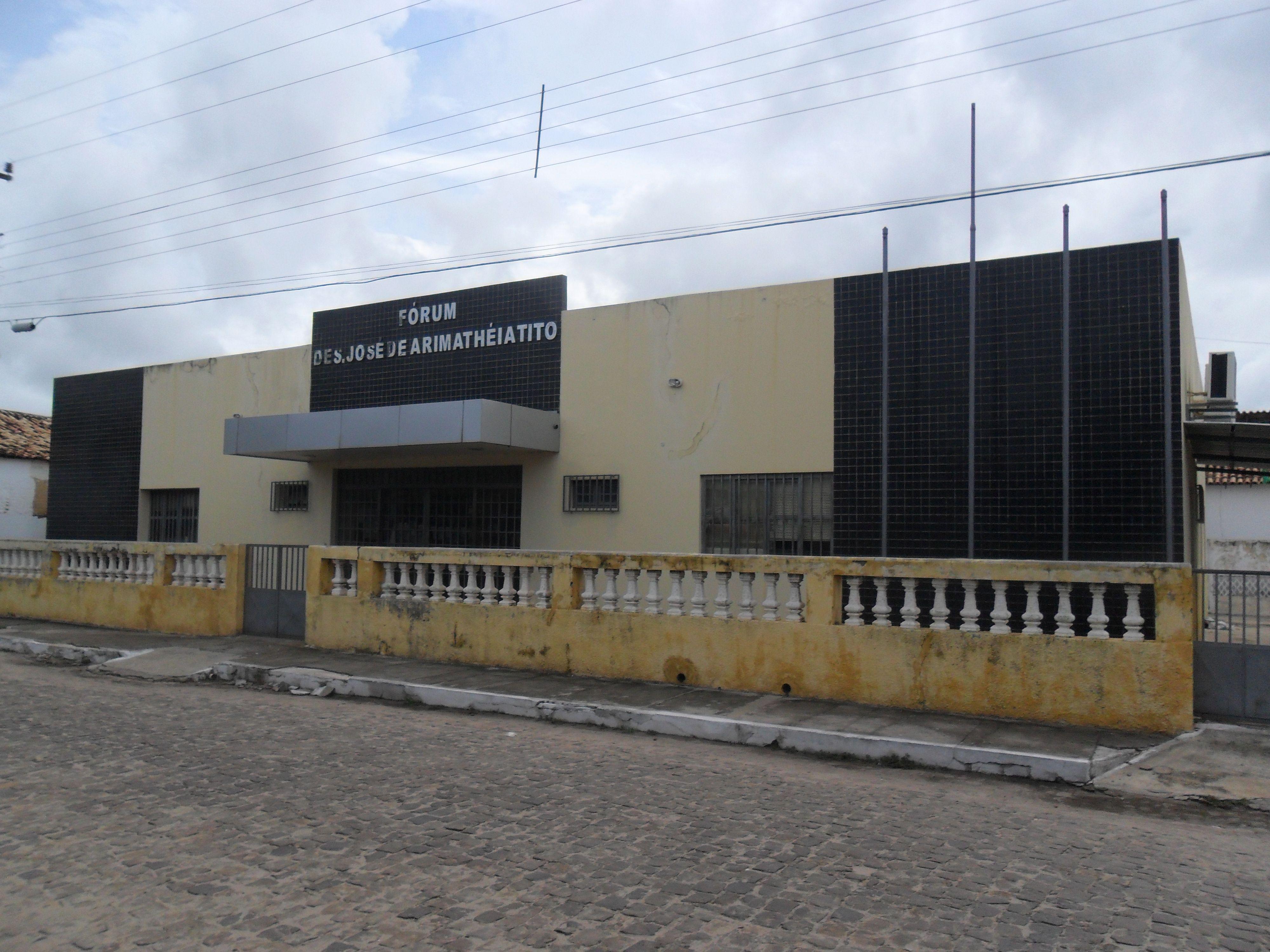 FÓRUM - Des . José de Arimathéia Tito - Barras - Piauí
