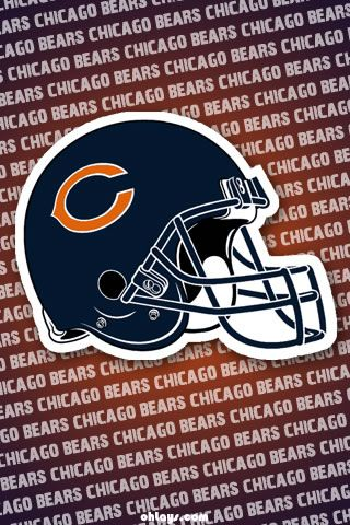 Chicago Bears Iphone Wallpaper Chicago Bears Football Chicago Bears Denver Broncos Logo