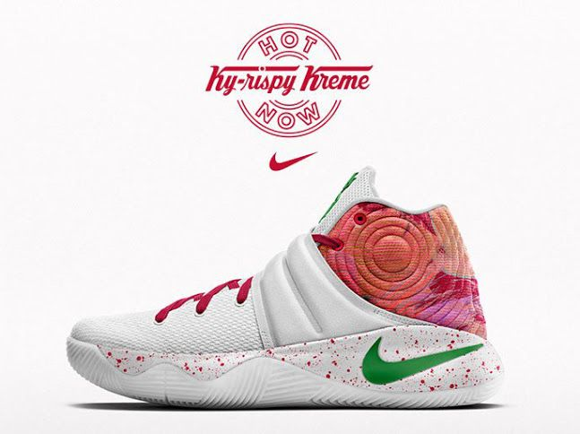 d81e99086af7 You Can Own Kyrie Irving s Krispy Kreme Nikes