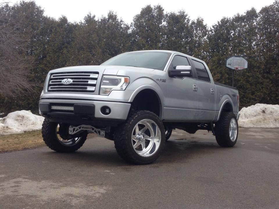 Ford F150 Lift Kit 4wd 2009 2017 8 5 W Shocks Mcgaughys 57050 This Liftkit Will Fit Models With Electric Steering