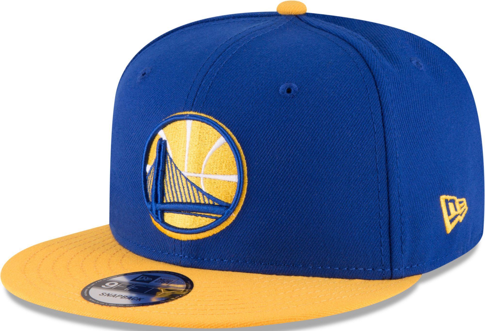 b10d07391b0a31 New Era Men's Golden State Warriors 9Fifty 2Tone Adjustable Snapback Hat