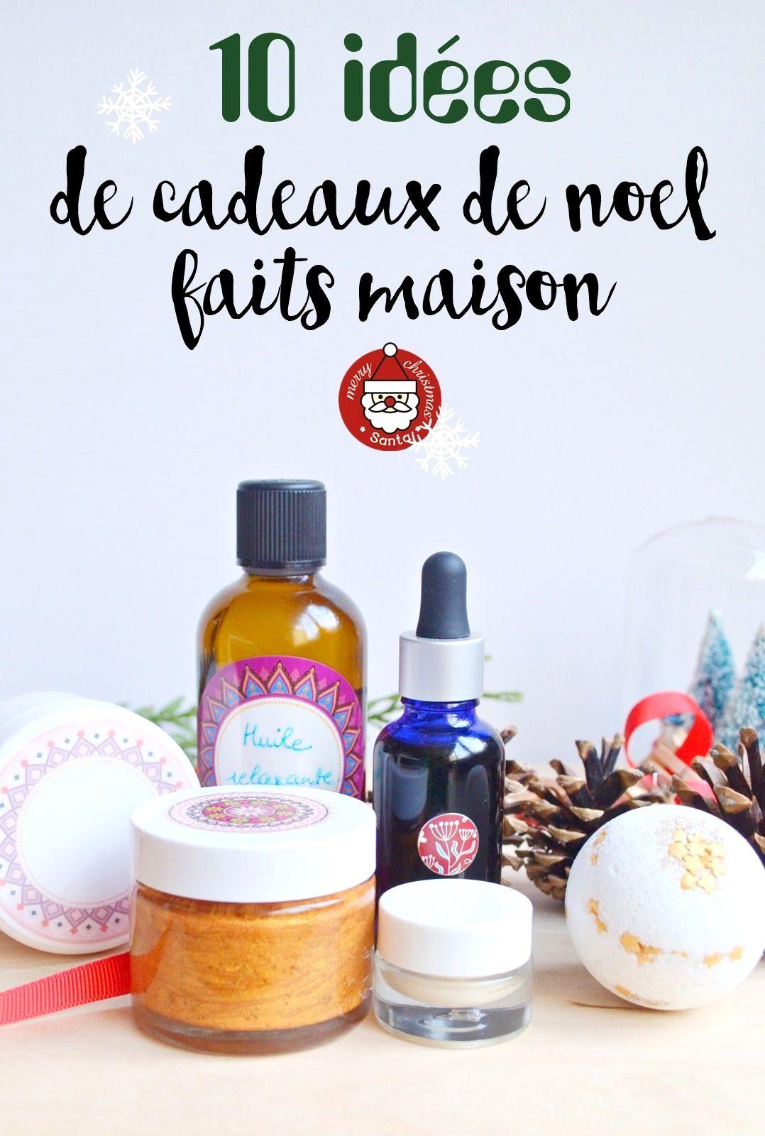 10 Id Es De Cadeaux De No L Faits Maison Id E Petit Cadeau Petits