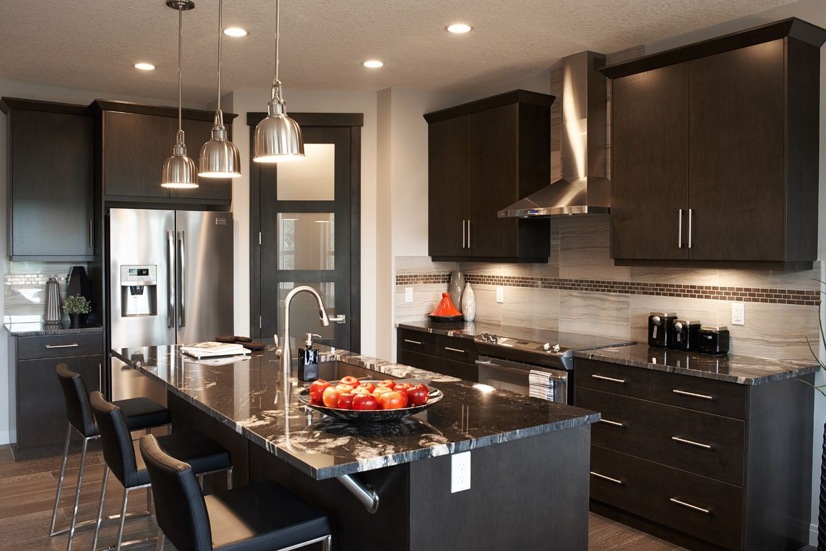 Kitchen Furniture Calgary The Kennedy Kitchen In Riviera Trico Homes Check Out The New