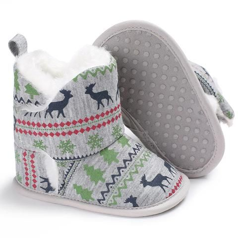 720b04addd5 Raise Young Winter Plus Velvet Warm Baby Christian Shoes Cotton Soft Soles  Plush Toddler Girl Booties Newborn Infant Boy Boots