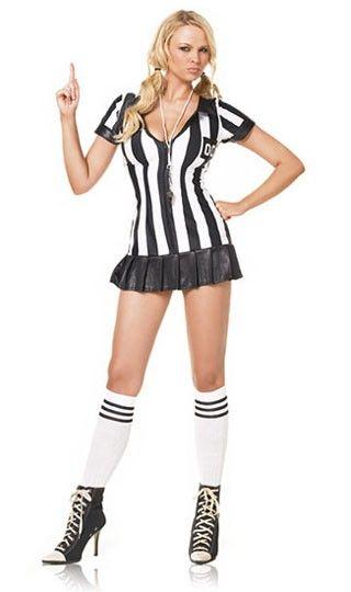 bbad7d2ba4d Leg avenue disfraz femenino de arbitro | Disfraz | Disfraces ...