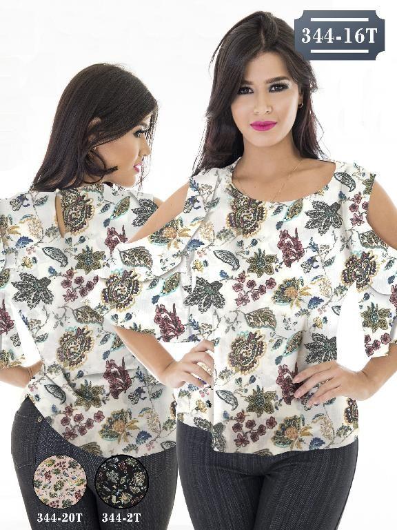 Blusa Moda Colombiana Tabbachi - Ref. 236 -344-16T Beige