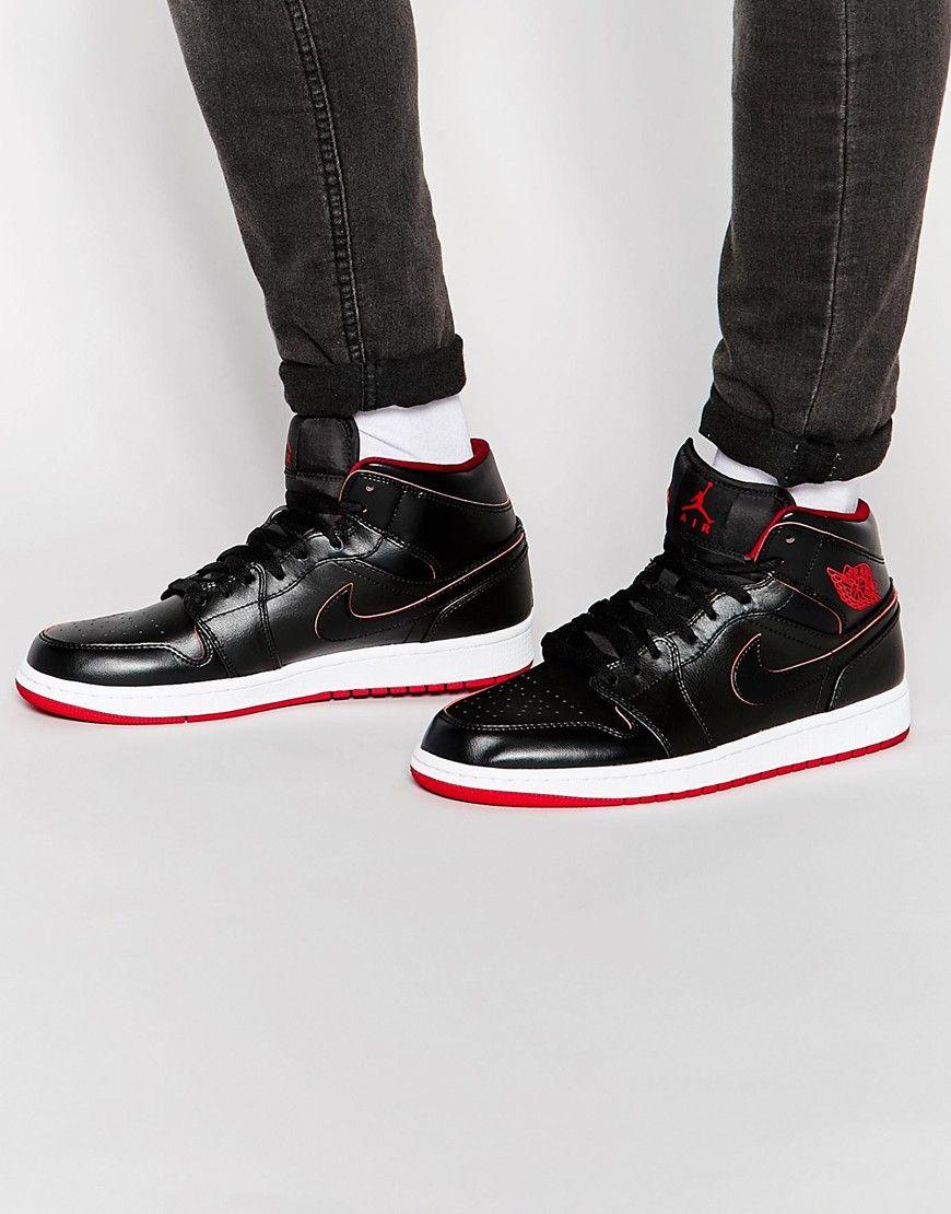 Nike Air Jordan Formateurs Milieu