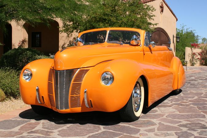 sectioned 1940 ford | 1940 Ford Custom Convertible