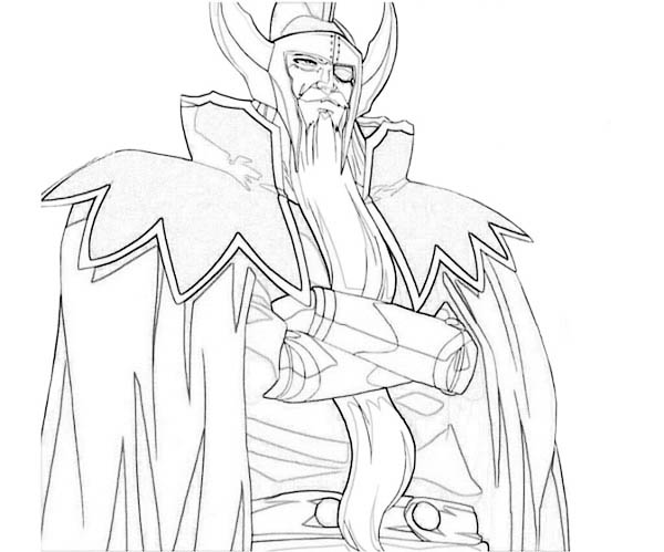 Amazing Drawing of Hades Coloring Page - NetArt in 2020 ...