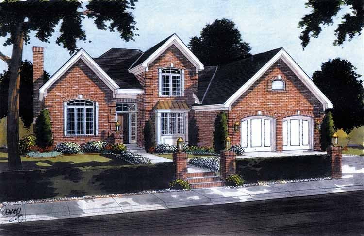 New American House Plan With 1824 Square Feet And 3 Bedrooms From Dream Home  Source | House Plan Code DHSW10092
