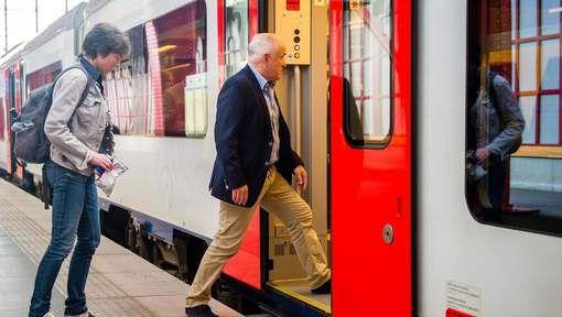 Iets meer dan 2 miljoen reizigers trokken tijdens de zomervakantie met de trein…
