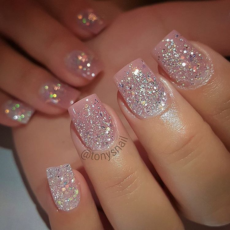 Short Nails Still Cute Shop Now I Love Ombre 37 Angle 39 Www Missuamerica Com Pink Glitter Nails Pink Nails Nails