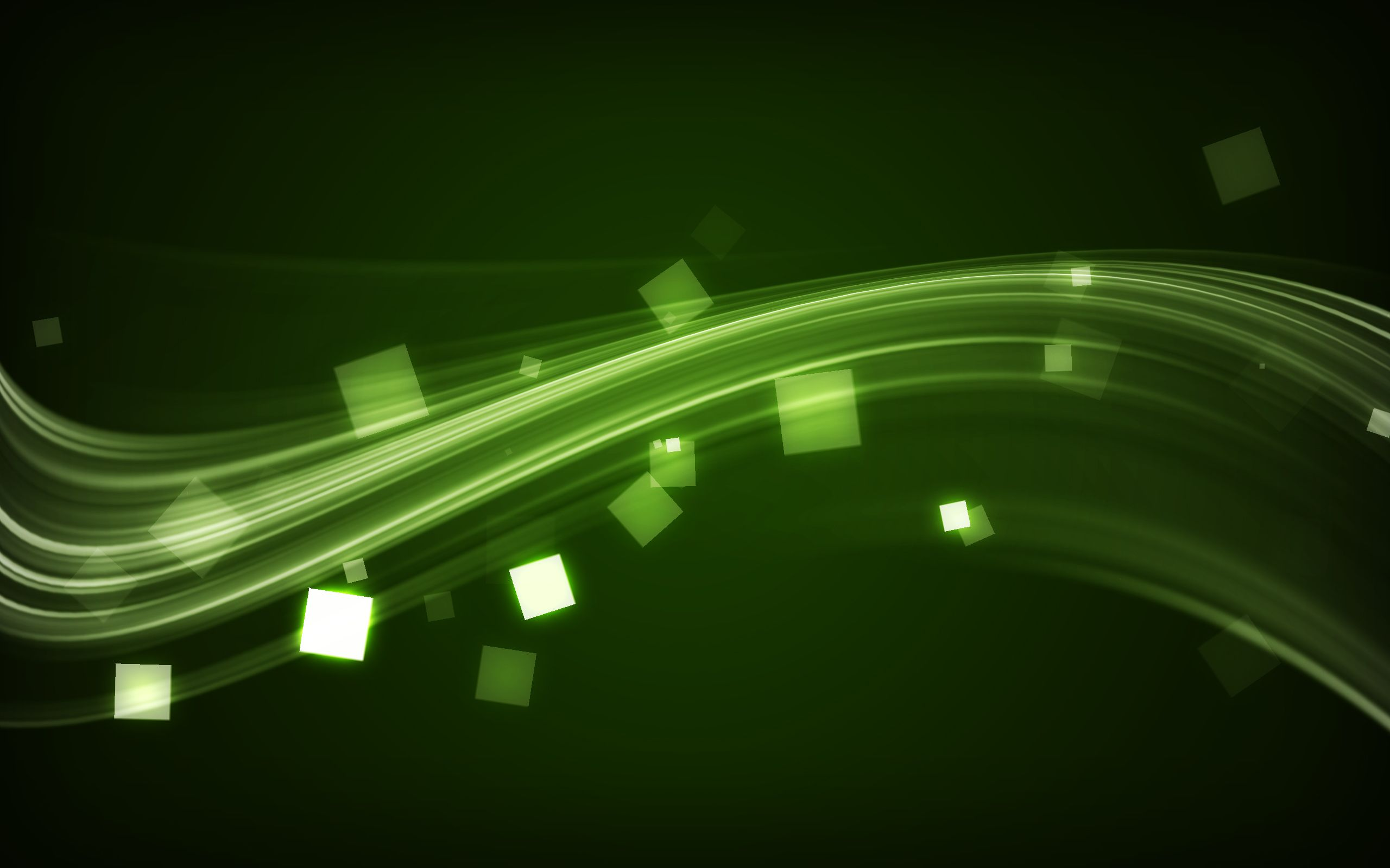electrify green wide is an HD wallpaper posted in Abstract