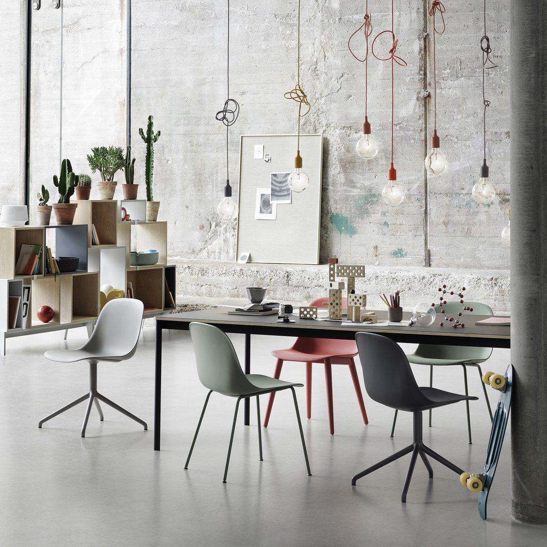 Scandinavische Design Stoelen.Muuto Fiber Side Chair Stoel Scandinavische Meubels Ideeen