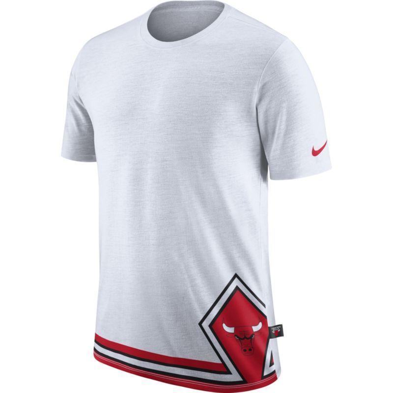 36df4ca1f629 Nike Men s Chicago Bulls Dri-FIT White DNA T-Shirt