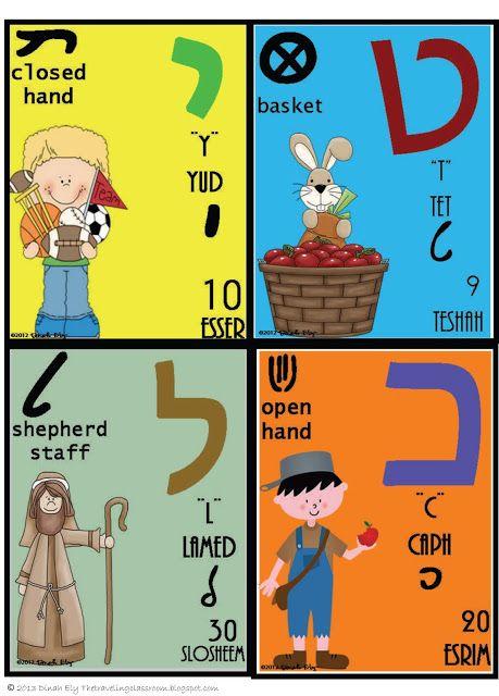 Weavings: A Sampling of Hebrew Letters -- Hebrew Alphabet